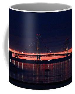 Mackinac Bridge On A June Evening Coffee Mug