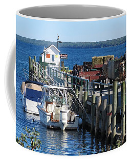 Mackinac Island Coal Dock Coffee Mug