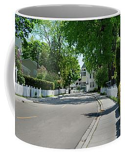 Mackinac Island Street Coffee Mug
