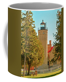 Coffee Mug featuring the photograph Mackinac Lighthouse by Trey Foerster