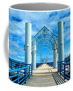Mackinaw City Pier Coffee Mug