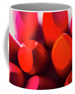 Coffee Mug featuring the photograph Macro Cosmetic Art by Jorgo Photography - Wall Art Gallery