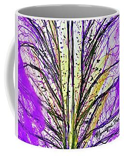 Macro Iris Petal Coffee Mug