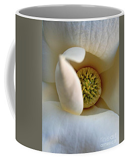 Macro Magnolia Coffee Mug