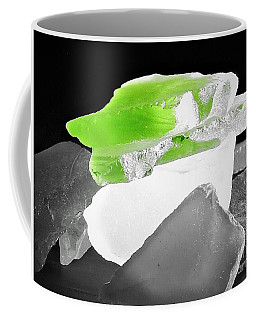 Macro Sea Glass Coffee Mug