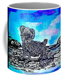 Macy At The  Beach  Coffee Mug