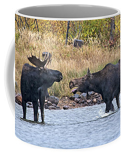 Mad Mamma Moose Coffee Mug