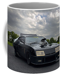 Mad Max Mfp Interceptor Replica Coffee Mug by Tim McCullough