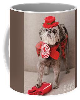 Madam Scarlett In All Red Coffee Mug