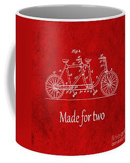 Made For Two - Red Coffee Mug