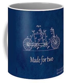 Made For Two - Blue Coffee Mug