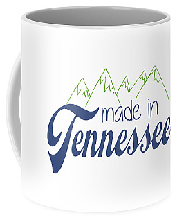 Made In Tennessee Blue Coffee Mug