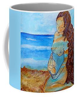 Made Of Water Coffee Mug by Gioia Albano