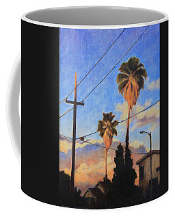 Madison Ave Sunset Coffee Mug by Andrew Danielsen