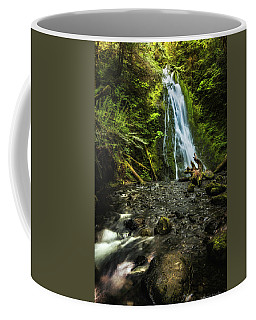 Coffee Mug featuring the photograph Madison Falls - An Elwha Sanctuary by Expressive Landscapes Fine Art Photography by Thom
