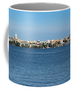 Madison Skyline From Picnic Point Coffee Mug