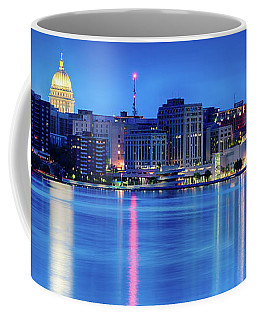 Madison Skyline Reflection Coffee Mug