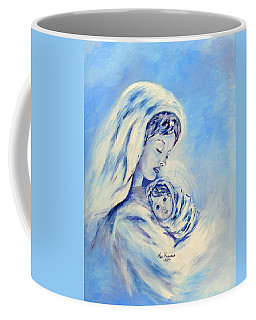 Madonna And Child By May Villeneuve Coffee Mug