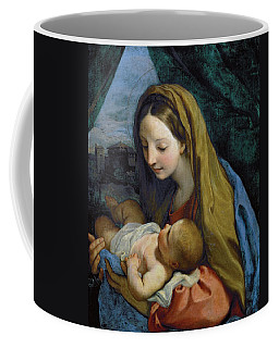Coffee Mug featuring the painting Madonna And Child by Carlo Maratta
