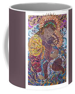 Madonna And Child The Sacred And Profane Coffee Mug