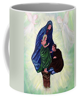 Madonna And Child With St Anthony Coffee Mug
