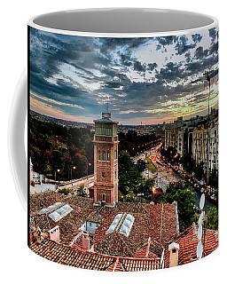 Madrid Sunset Coffee Mug