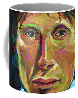 Mads Mikkelsen Coffee Mug by Robert Phelps