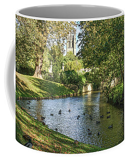 Magdalen From The River Cherwell Coffee Mug
