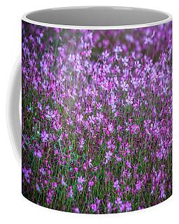 Magenta Flora Coffee Mug