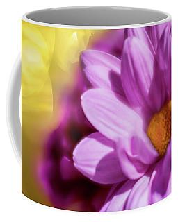 Magenta Floral Coffee Mug