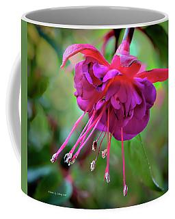 Magenta Fuchsia Coffee Mug by Denis Lemay
