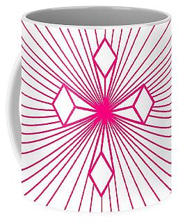 'magenta Lines 1' Coffee Mug