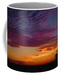Magenta Morning Sky Coffee Mug