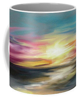 Magenta Sea Coffee Mug