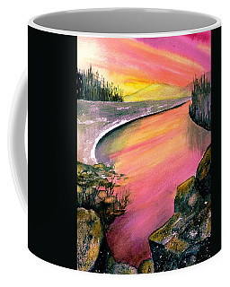 Magenta Sunset Coffee Mug
