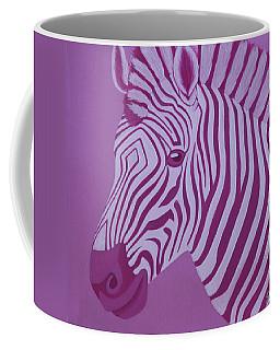 Magenta Zebra Coffee Mug