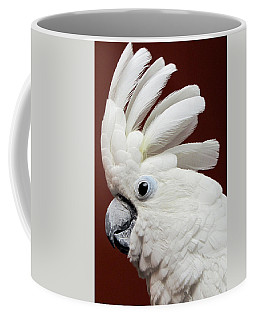 Maggie The Umbrella Cockatoo Coffee Mug