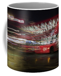 Coffee Mug featuring the photograph Magic Bus by Alex Lapidus