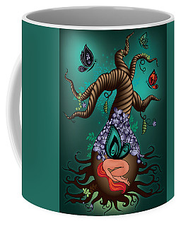 Magic Butterfly Tree Coffee Mug by Serena King