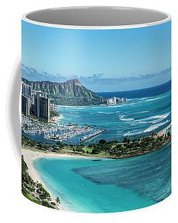 Magic Island To Diamond Head Coffee Mug
