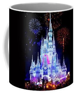 Magic Kingdom Fireworks Coffee Mug by Mark Andrew Thomas