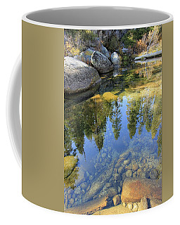 Magic Light On Big Silver Coffee Mug