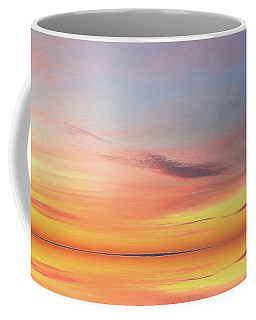 Coffee Mug featuring the digital art Magic Morning Sky Two  by Lyle Crump