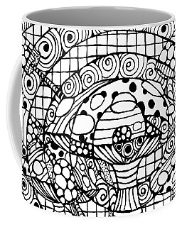 Magic Mushroom Tangle Coffee Mug