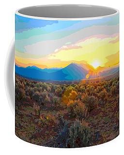 Magic Over Taos Coffee Mug