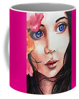 Coffee Mug featuring the painting Magic Secrets by Michal Madison