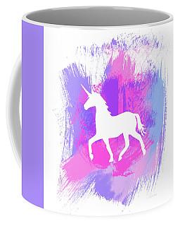 Magic Unicorn 1- Art By Linda Woods Coffee Mug
