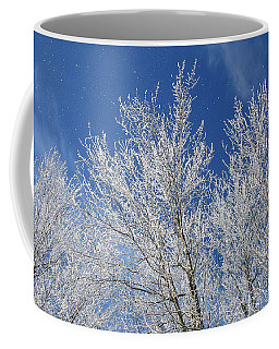 Magical Frosty Tree Tops Coffee Mug by Cheryl Baxter