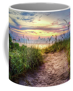 Coffee Mug featuring the photograph Magical Light In The Dunes by Debra and Dave Vanderlaan