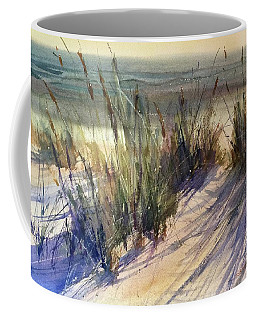 Coffee Mug featuring the painting Magical Michigan by Sandra Strohschein